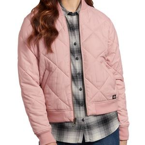 LF Jackets & Coats - Pink LF stores quilted bomber